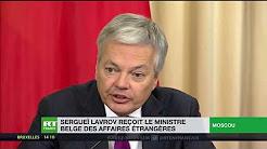 Du commerce malgré les sanctions ? Le chef de la diplomatie belge Didier Reynders à Moscou