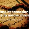 Carême et Ramadan : les différences