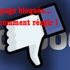 Communiqué : notre page Facebook bloquée !