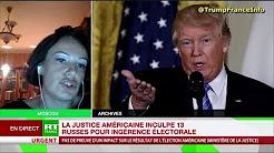 Karine Bechet-Golovko trouve absurde que 13 Russes aient pu faire basculer l'élection US