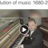 Comment la musique a évolué, de 1680 à 2017