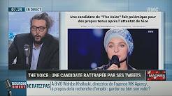"""Mennel Ibtissem (candidate à """"The Voice"""") est voilée, complotiste et proche des islamistes"""