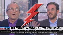 """Le débat sur Mennel Ibtissem, chanteuse voilée de """"The Voice"""", tourne au pugilat"""