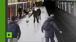 Les héros du XXIe siècle : un homme sauve un petit garçon dans le métro de Milan