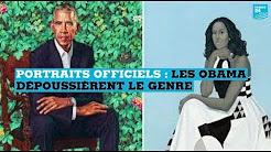 Portraits officiels : Barack et Michelle Obama très critiqués sur les réseaux sociaux