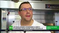Un boulanger de l'Aube reçoit une amende de 3 000 euros pour avoir trop travaillé