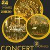 Le 24 mars, vous êtes pris ! Concert avec trois chorales scoutes à Paris
