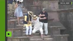 Pour Hillary Clinton le voyage en Inde commence par un faux-pas