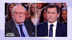 Invasion immigrée et grand remplacement : Jean-Marie Le Pen VS Gérald Darmanin