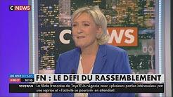 Emmanuel Macron « a violé le droit international » en frappant la Syrie, dénonce Marine Le Pen