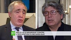 Clandestins dans la basilique Saint-Denis : Coquerel s'explique, Ouchikh condamne