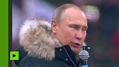 Russie : Poutine l'emporterait dès le premier tour avec plus de 71% des voix