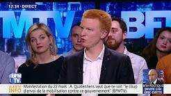 """Pouvoir d'achat : """"Nous sommes en présence d'une fake news"""" de Macron, dénonce Quatennens"""