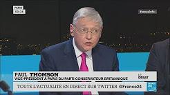 Espion russe empoisonné : le vice-président à Paris du Parti conservateur se désolidarise de Theresa May