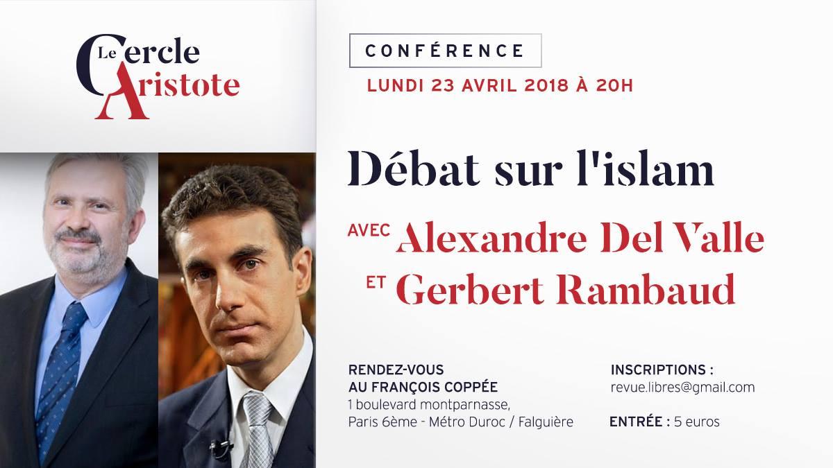 Débat sur l'islam avec Alexandre Del Valle et Gerbert Rambaud