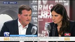 """Louis Aliot : Le blocage d'un col par Génération identitaire """"est un coup de com' réussi"""""""