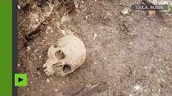 Une découverte exceptionnelle : une église du 18e siècle et 30 tombes retrouvées à Toula, en Russie
