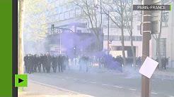 """Débordements violents en marge de la nouvelle journée de """"grève interprofessionnelle"""""""