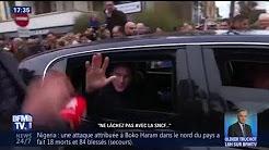 """""""Ne lâchez rien avec la SNCF"""", """"Ne vous inquiétez pas"""" : l'échange entre un passant et Macron"""