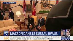 """""""Cette relation est plus forte que jamais"""" déclare Emmanuel Macron depuis le bureau ovale"""