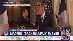 """Trump sur Macron : """"Je pense que la France va atteindre de nouveaux sommets grâce à ce Président"""""""