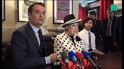 """Geneviève de Fontenay appelle à la """"lutte finale"""" avec Philippot en chantant l'Internationale"""