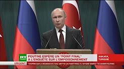 Poutine : « Trump est un président mais aussi un entrepreneur expérimenté »