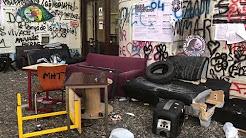 Visite des locaux après la fin du blocage du site de Tolbiac : des images des 600 000 à 800 000 euros de dégâts provoqués par les gauchistes