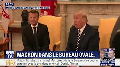 """Donald Trump : """"Dans l'histoire de notre pays, rarement nous avons vu deux chefs d'États aussi proches"""""""