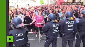 Droite nationale et extrême-gauche se font face à Berlin