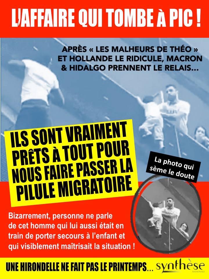 Mamoudou Gassama, le héros malien en situation illégale, prétexte à l'immigrationniste