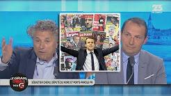 Chenu et Goldnadel dénoncent le soutien des médias à Macron