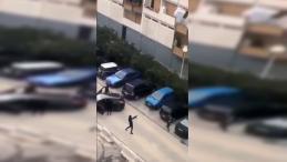 Des racailles bloquent l'accès de la cité de la Busserine à Marseille et tirent des coups de feu en l'air