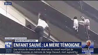 L'acte héroïque d'un homme escaladant quatre étages pour sauver un enfant