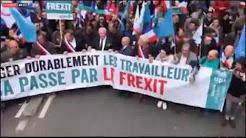 1er mai 2018 : manifestation de l'UPR avec François Asselineau à Paris en faveur du Frexit