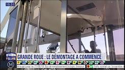 A Paris, le démontage de la Grande roue a commencé