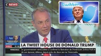 Philippe Karsenty estime que Donald Trump a raison de tweeter pour contourner les merdias