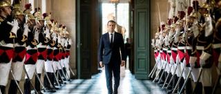 """Macron aux Bleus (et aux Français ?) : """"une compétition réussie est une compétition gagnée"""""""