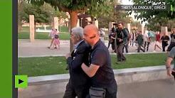 Grèce : des nationalistes VS le maire de Thessalonique
