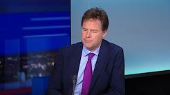 """Nick Clegg : """"Il faut organiser un referendum sur les termes du Brexit"""""""