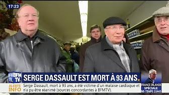"""Serge Dassault, """"adepte du dérapage"""" juge BFM TV"""