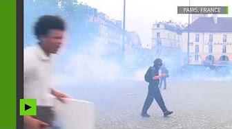 Manifestation à Paris : une quarantaine d'arrestations en marge du défilé