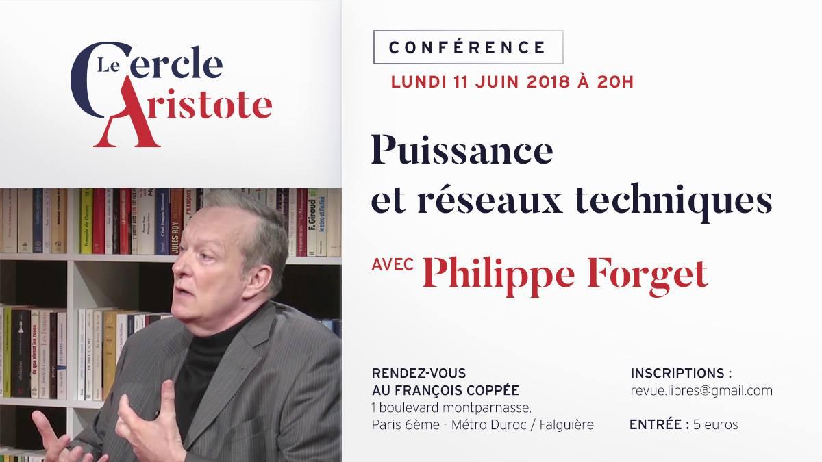 Vidéo de la conférence de Philippe Forget : puissance et réseaux techniques