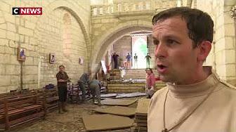 Dordogne : une abbaye complètement inondée