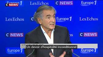 """Bernard-Henri Levy fait la leçon aux Français : """"Il faut accueillir une part de la misère du monde"""""""
