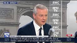 """Bruno Le Maire : """"L'Europe est dans un processus de décomposition"""""""
