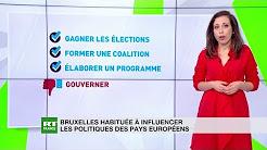 Bruxelles habitué à influencer les politiques des pays européens