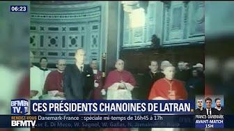Qui sont les présidents qui ne sont pas allés prendre possession de leur titre de chanoine ?