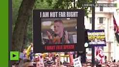 Londres : affrontements entre des partisans de Tommy Robinson et la police