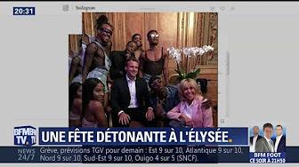 """Fête de la musique : la photo du couple Macron entouré de danseurs """"noirs et pédés"""" (c'est eux qui l'affirment) fait réagir l'opposition"""